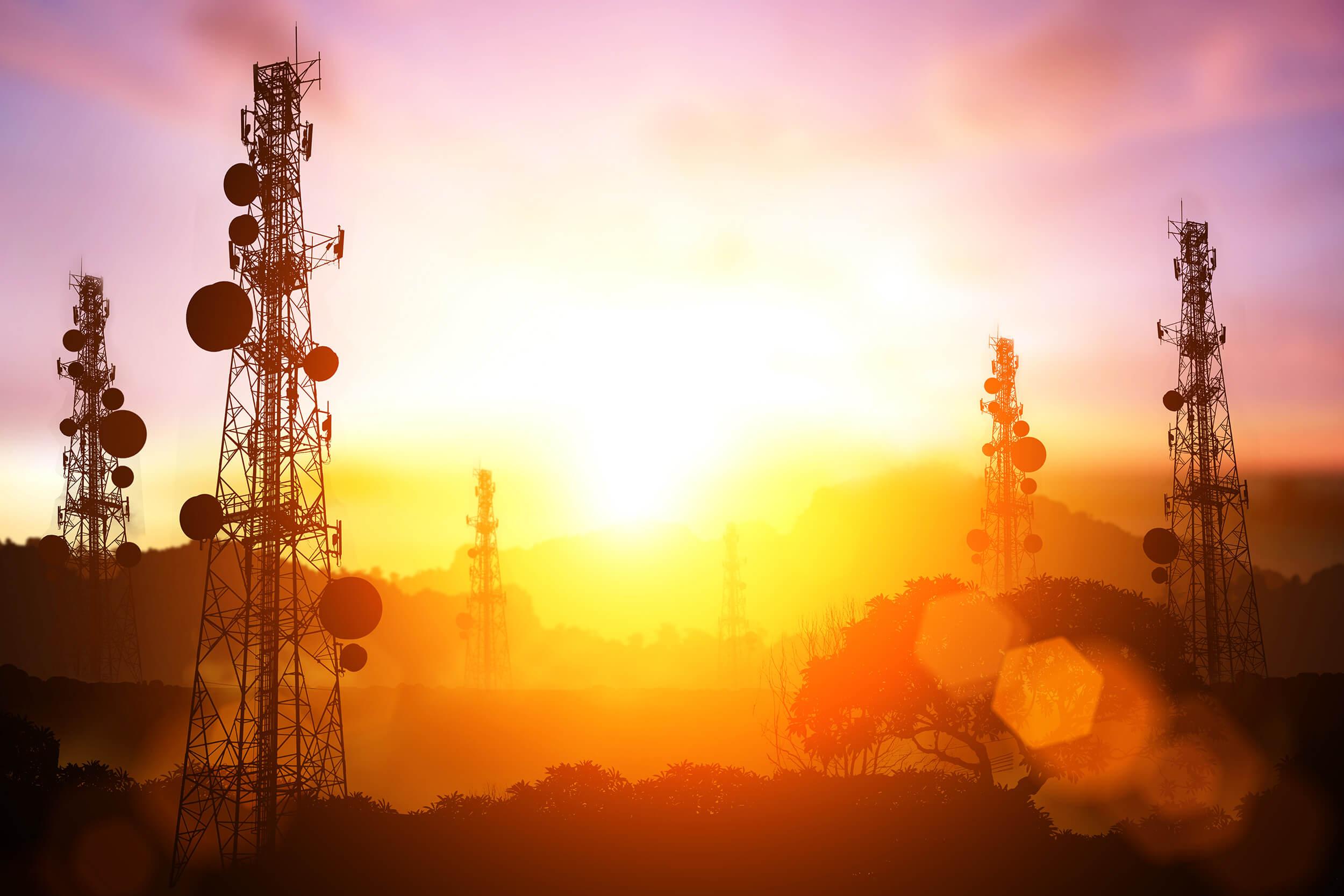 Telecom Obstruction lights